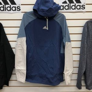Authentic Adidas nylon hoodie